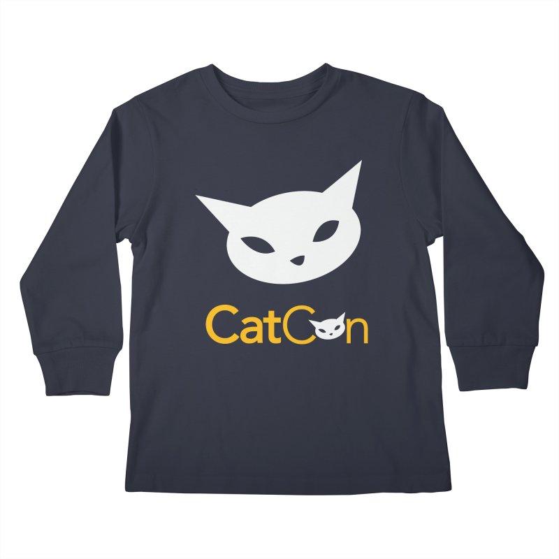 CatCon Logo Kids Longsleeve T-Shirt by CatCon's Artist Shop