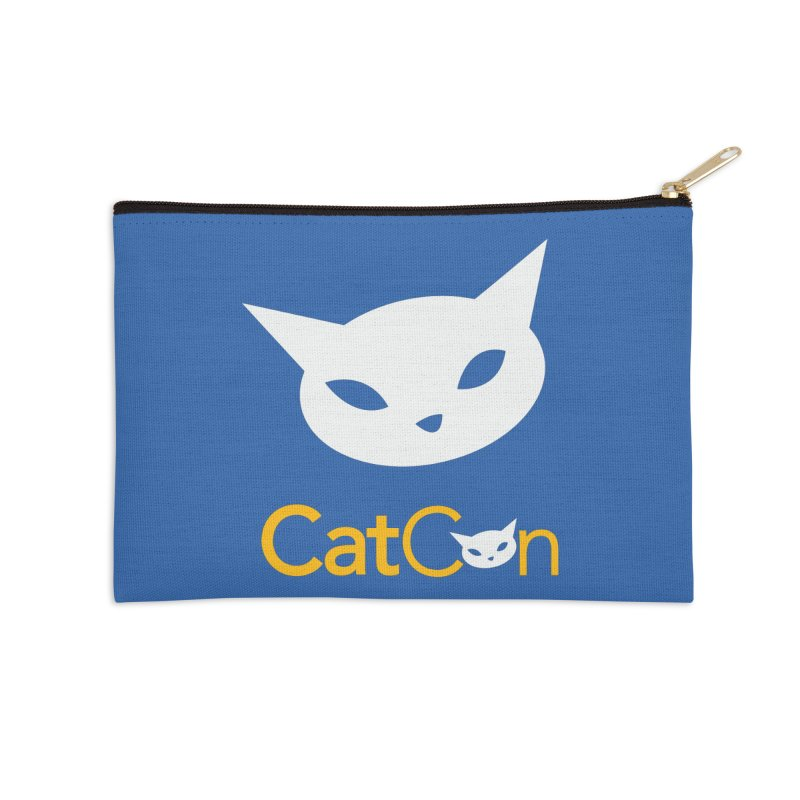 CatCon Logo Accessories Zip Pouch by CatCon's Artist Shop