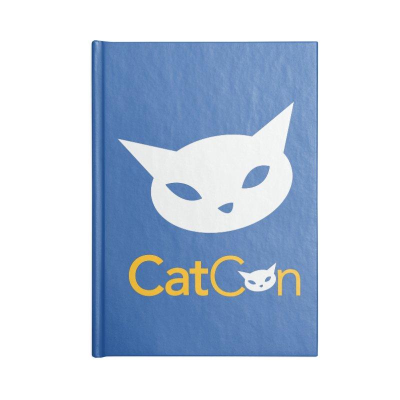 CatCon Logo Accessories Notebook by CatCon's Artist Shop