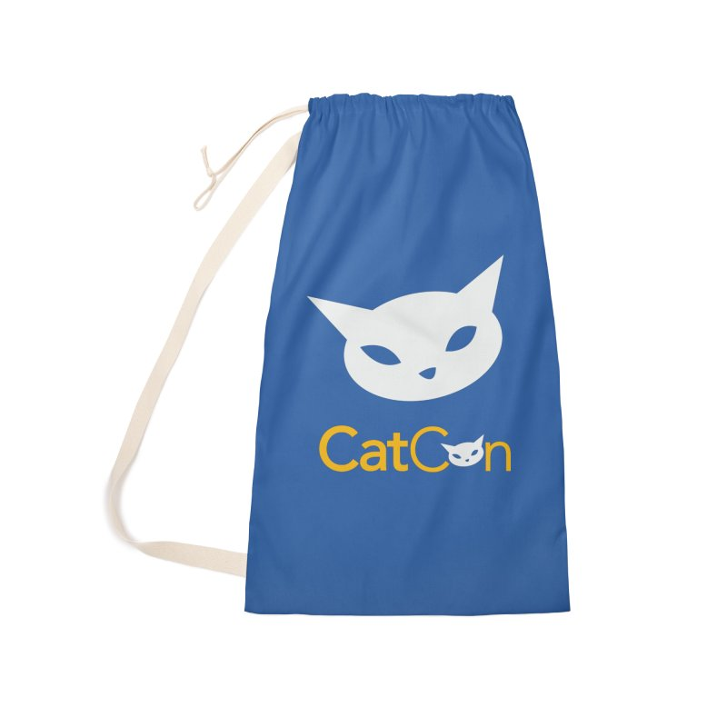 CatCon Logo Accessories Bag by CatCon's Artist Shop