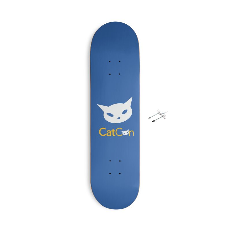 CatCon Logo Accessories Skateboard by CatCon's Artist Shop