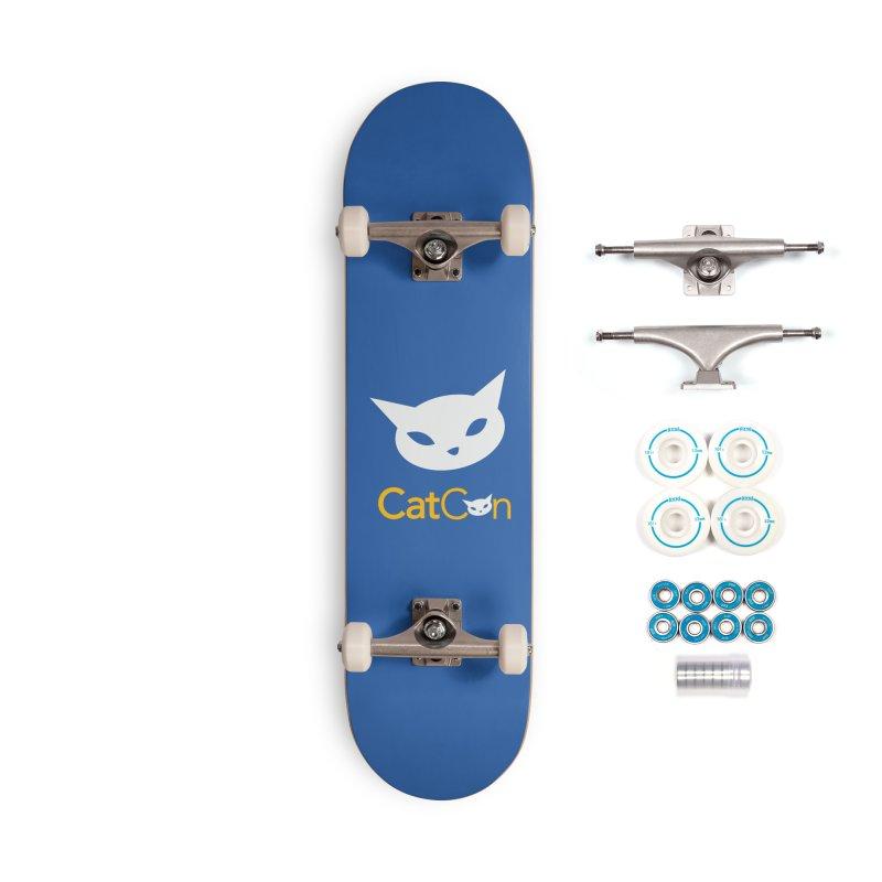 CatCon Logo Accessories Skateboard by CatCon's Artist Shop