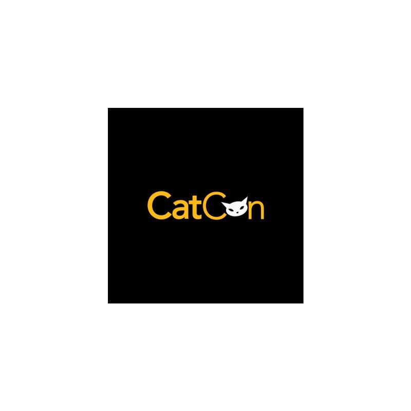 CatCon Black Accessories Button by CatCon's Artist Shop
