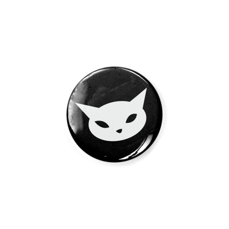CatCon Black Accessories Button by CatCon's Artist Shop