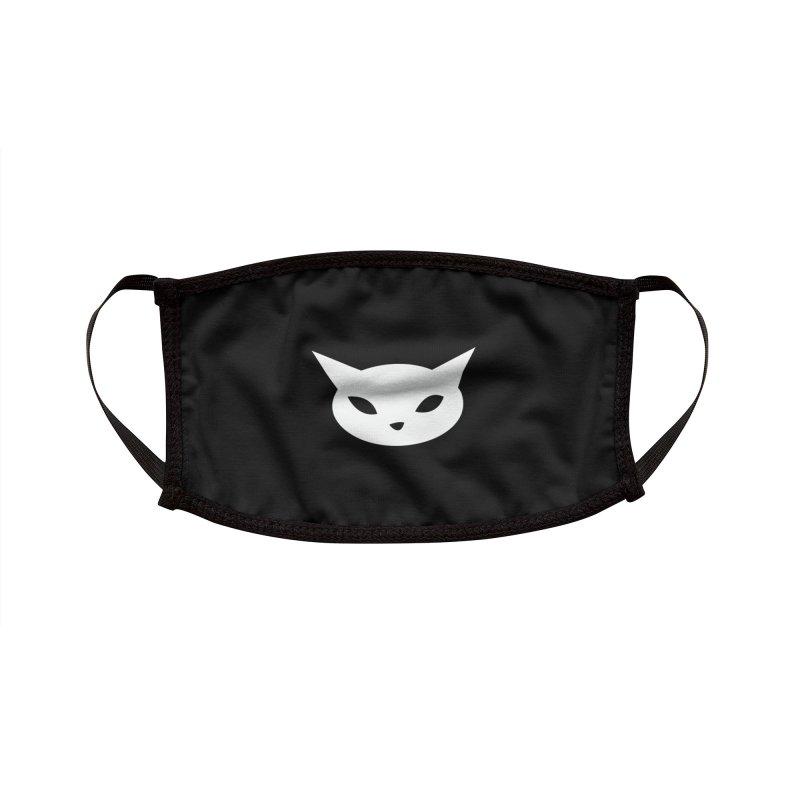 CatCon Black Accessories Face Mask by CatCon's Artist Shop