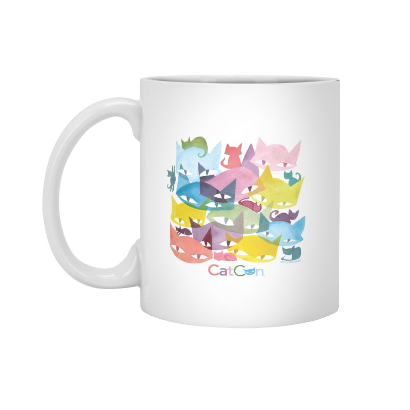 CatCon Cats Accessories Mug by CatCon's Artist Shop