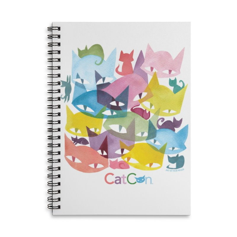 CatCon Cats Accessories Notebook by CatCon's Artist Shop