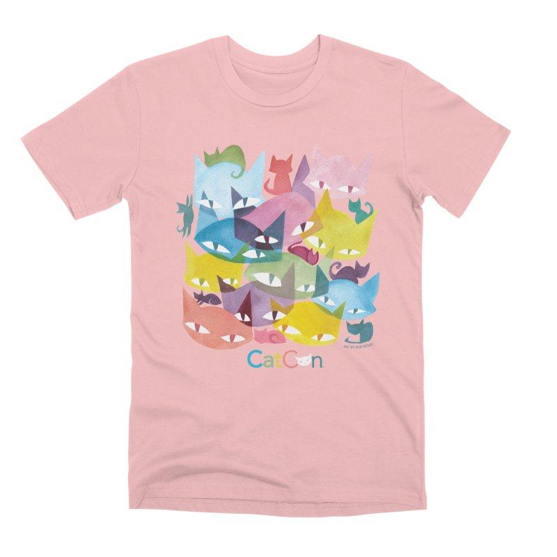 CatCon Cats Men's T-Shirt by CatCon's Artist Shop