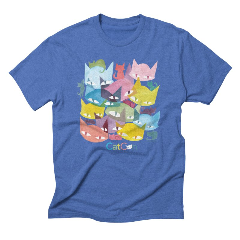 CatCon Cats Men's T-Shirt by CatCon's Artist Shop