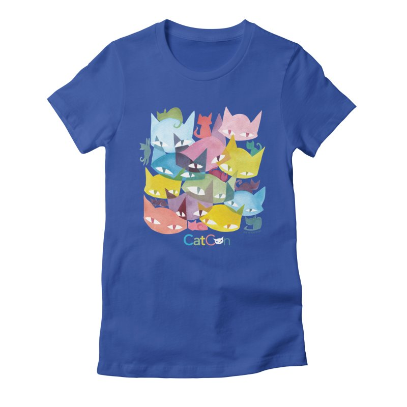 CatCon Cats Women's T-Shirt by CatCon's Artist Shop