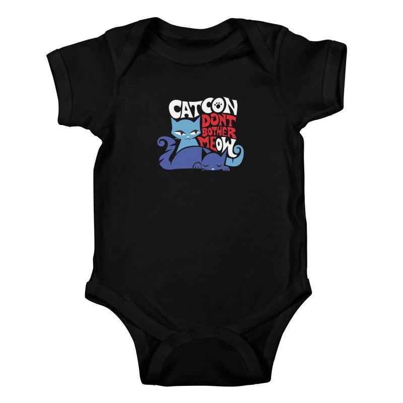 CatCon FILLMORE Kids Baby Bodysuit by CatCon's Artist Shop