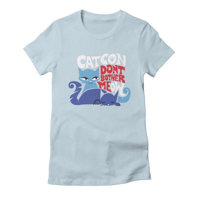 CatCon FILLMORE Women's T-Shirt by CatCon's Artist Shop