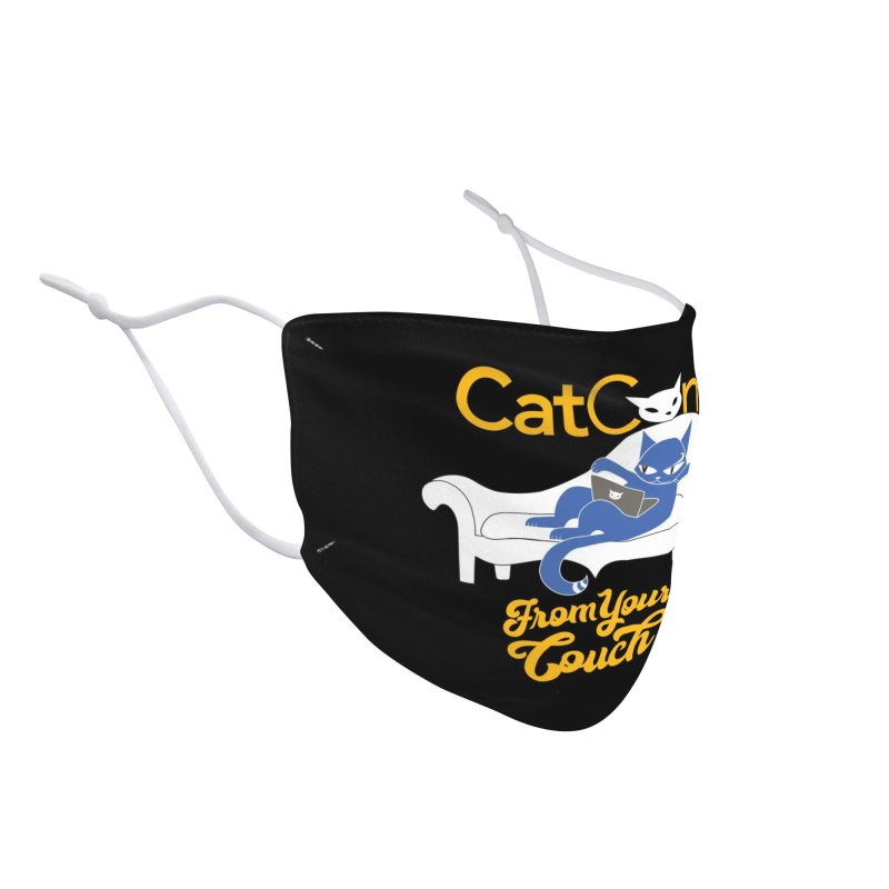 CatCon From Your Couch Accessories Face Mask by CatCon's Artist Shop