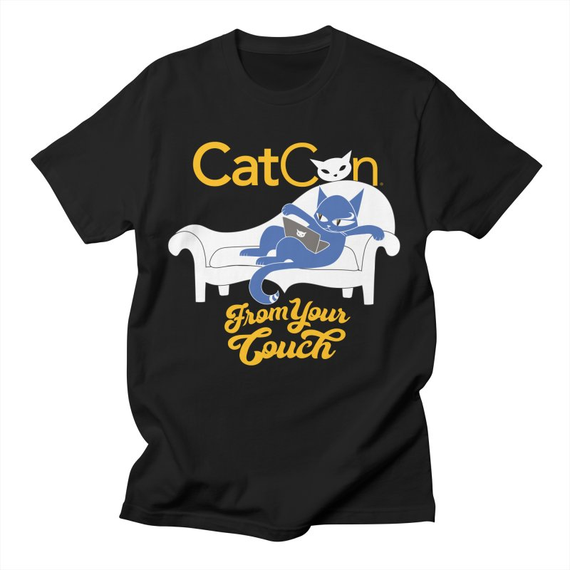 CatCon From Your Couch Men's T-Shirt by CatCon's Artist Shop