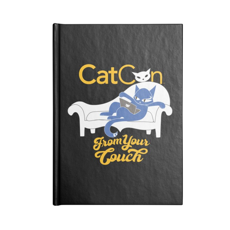 CatCon From Your Couch Accessories Notebook by CatCon's Artist Shop