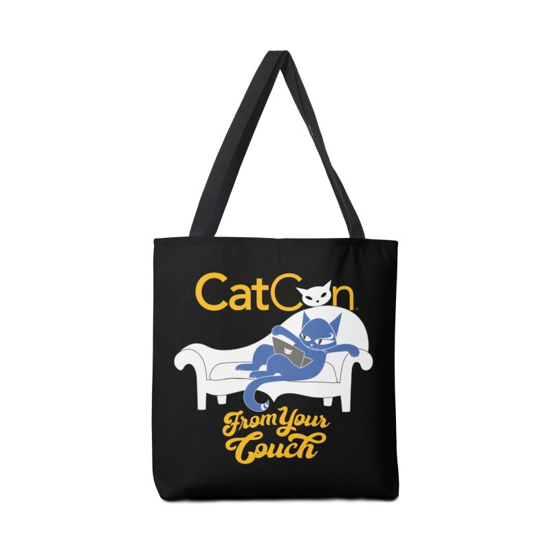 CatCon From Your Couch Accessories Bag by CatCon's Artist Shop