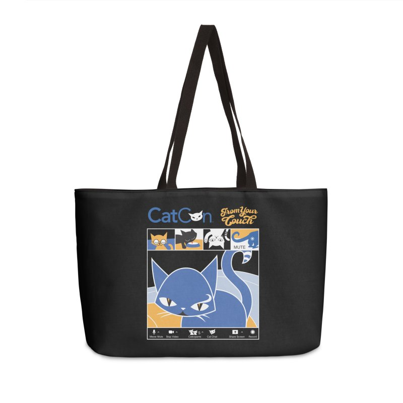 CATCON From Your Couch 2021 Accessories Bag by CatCon's Artist Shop