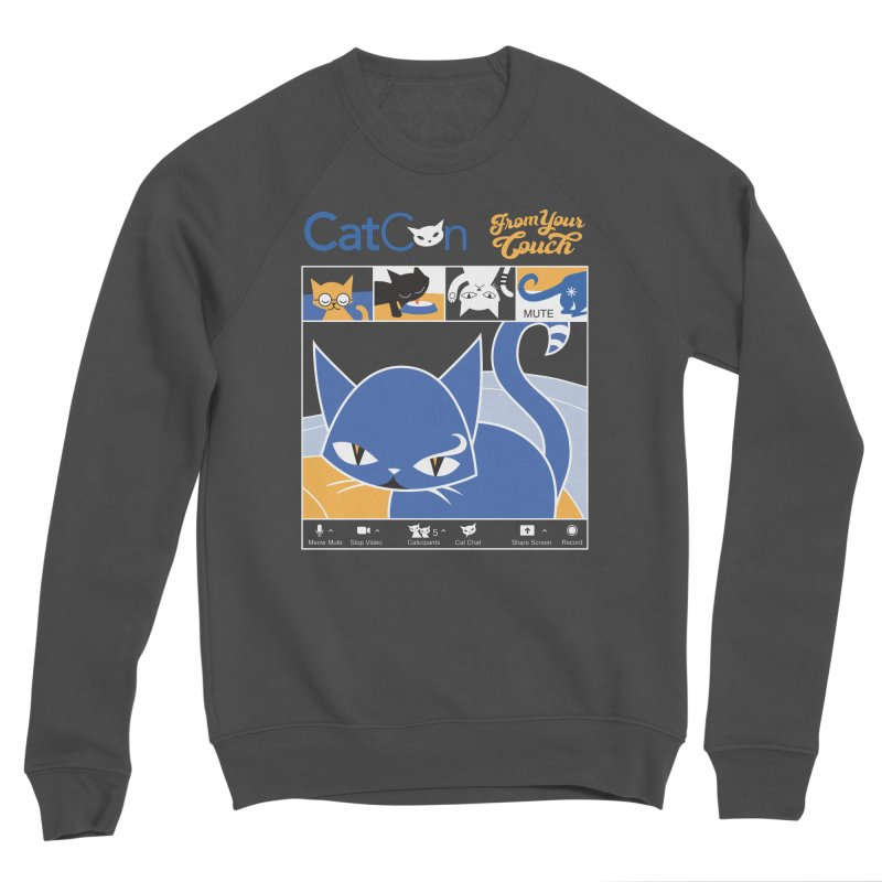 CATCON From Your Couch 2021 Women's Sweatshirt by CatCon's Artist Shop