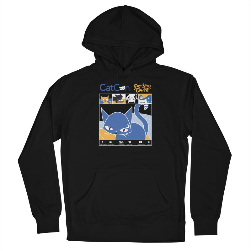 CATCON From Your Couch 2021 Women's Pullover Hoody by CatCon's Artist Shop