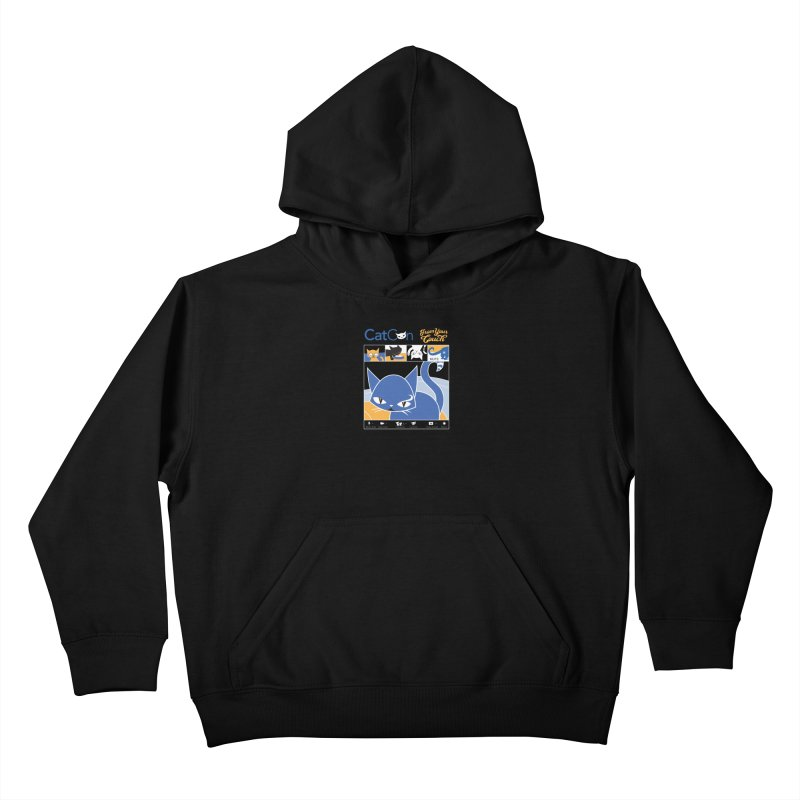 CATCON From Your Couch 2021 Kids Pullover Hoody by CatCon's Artist Shop