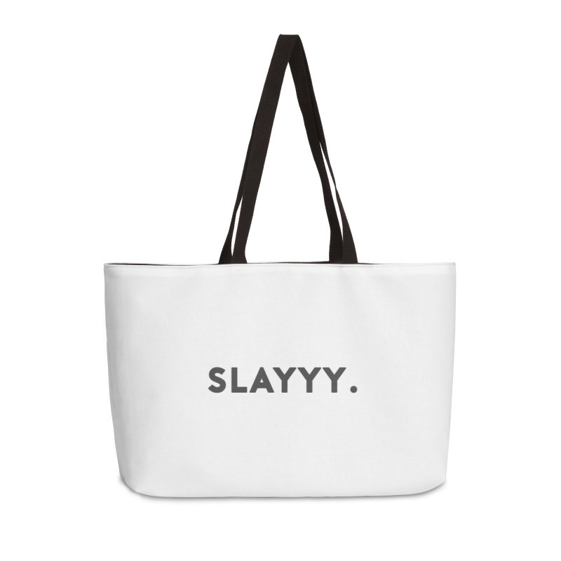 SLAYYY. Accessories Bag by Cate Creative