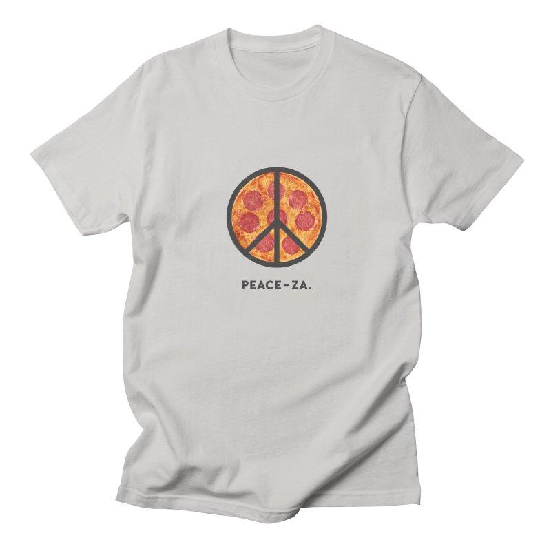 PEACE-ZA. Men's Regular T-Shirt by Cate Creative
