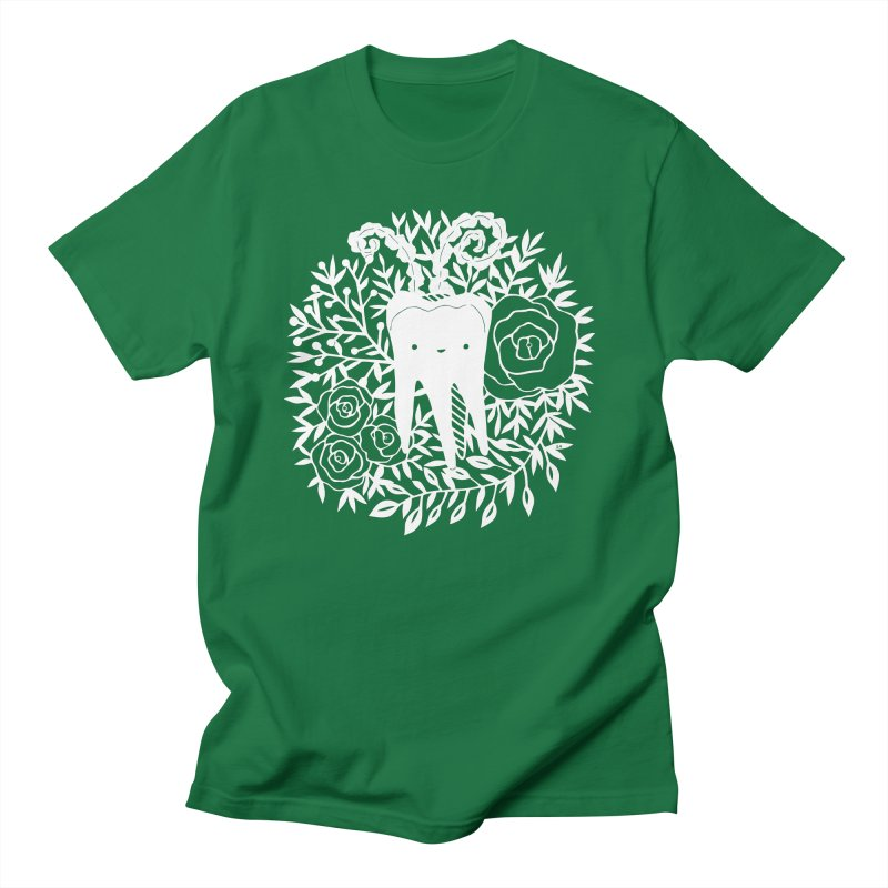 Tooth Witch (White) Men's T-Shirt by catfriendo's Artist Shop