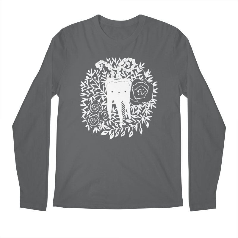 Tooth Witch (White) Men's Longsleeve T-Shirt by catfriendo's Artist Shop