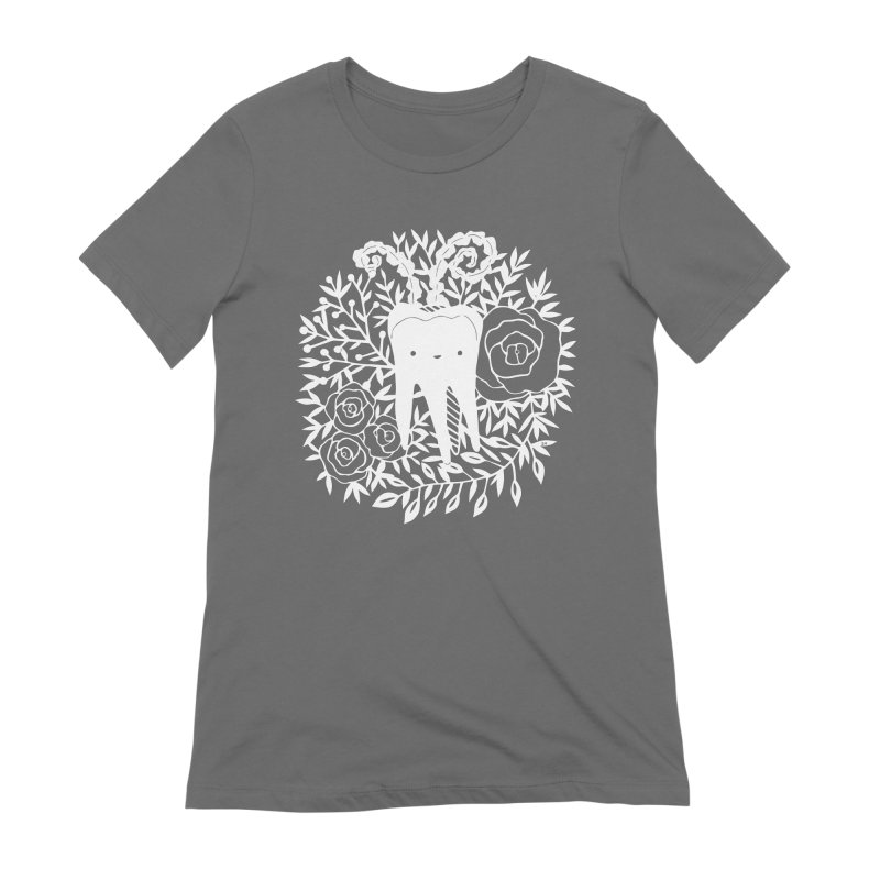 Tooth Witch (White) Women's T-Shirt by catfriendo's Artist Shop