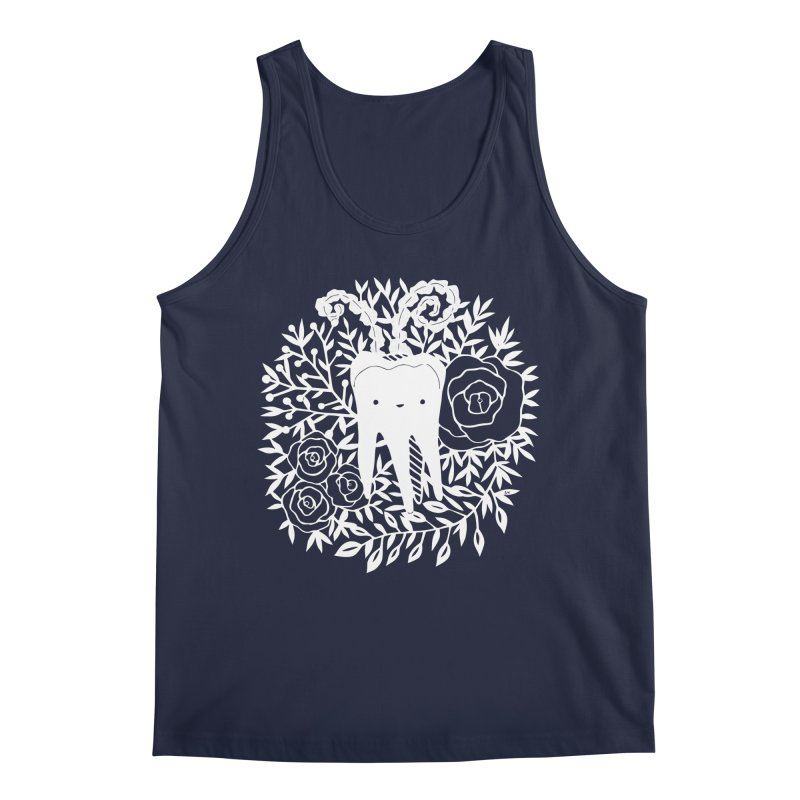 Tooth Witch (White) Men's Tank by catfriendo's Artist Shop