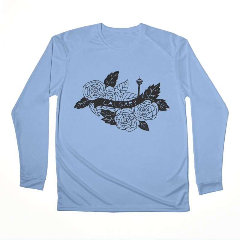 YYC Men's Longsleeve T-Shirt by catfriendo's Artist Shop