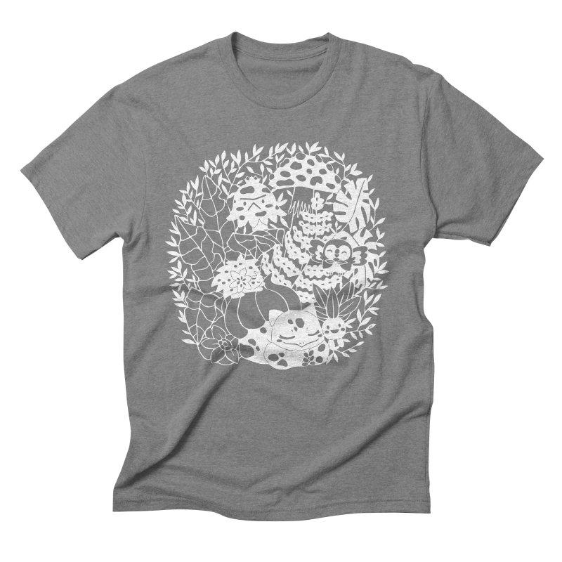 Bulbasaur's Mysterious Garden Men's T-Shirt by catfriendo's Artist Shop