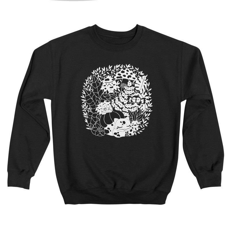 Bulbasaur's Mysterious Garden Men's Sweatshirt by catfriendo's Artist Shop