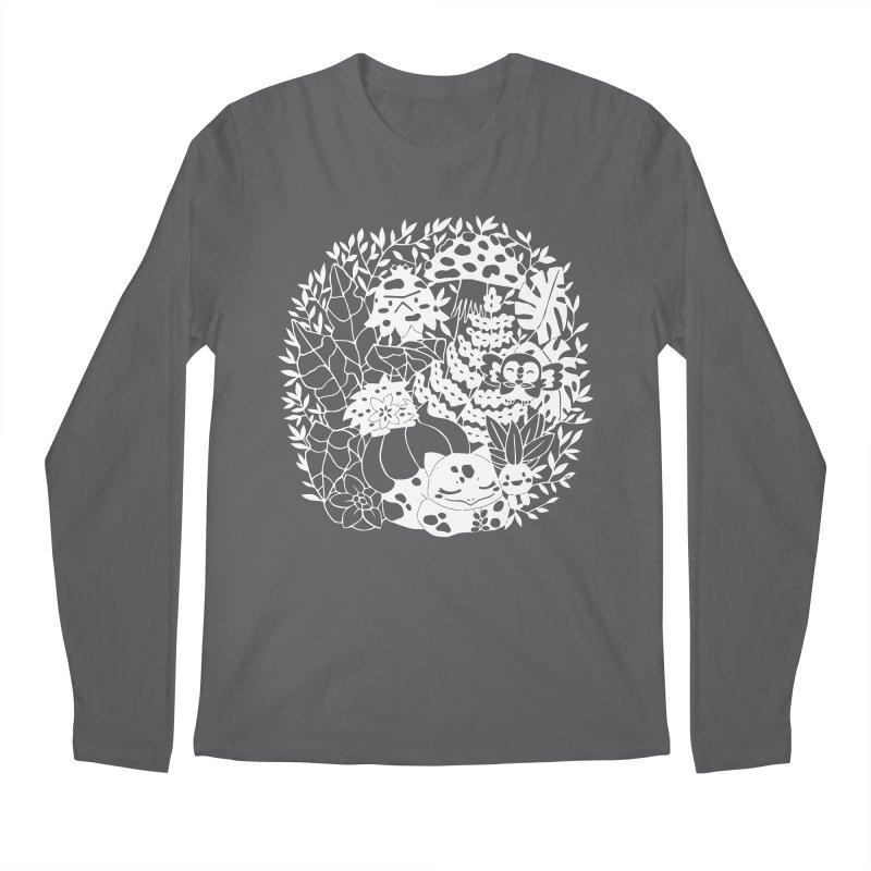 Bulbasaur's Mysterious Garden Men's Longsleeve T-Shirt by catfriendo's Artist Shop