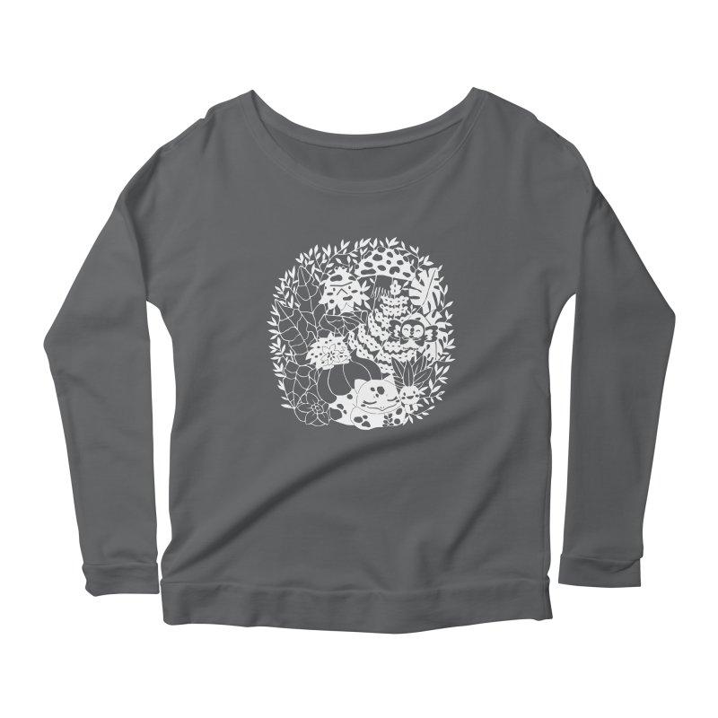 Bulbasaur's Mysterious Garden Women's Longsleeve T-Shirt by catfriendo's Artist Shop
