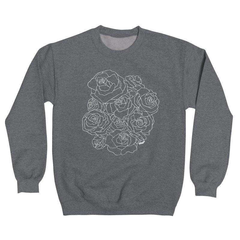 Midnight Rose Women's Sweatshirt by catfriendo's Artist Shop