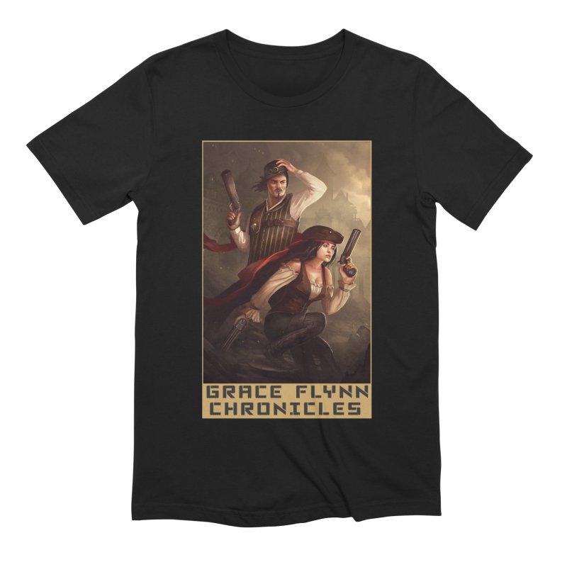 Grace Flynn T-Shirt 2 Men's T-Shirt by cathalcloth's Artist Shop