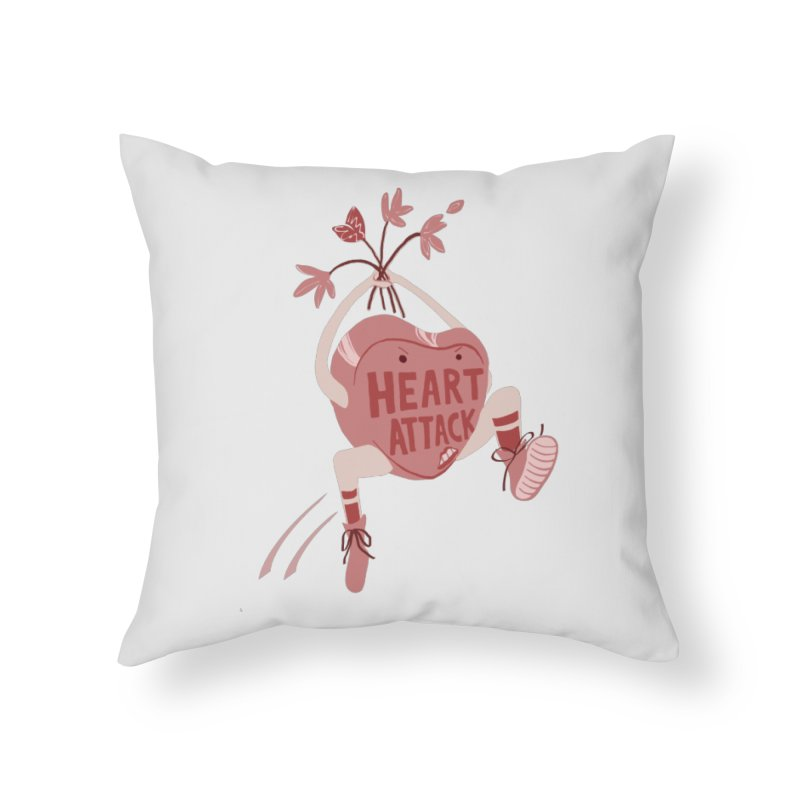 We Need to Talk Home Throw Pillow by Food & Stuffs