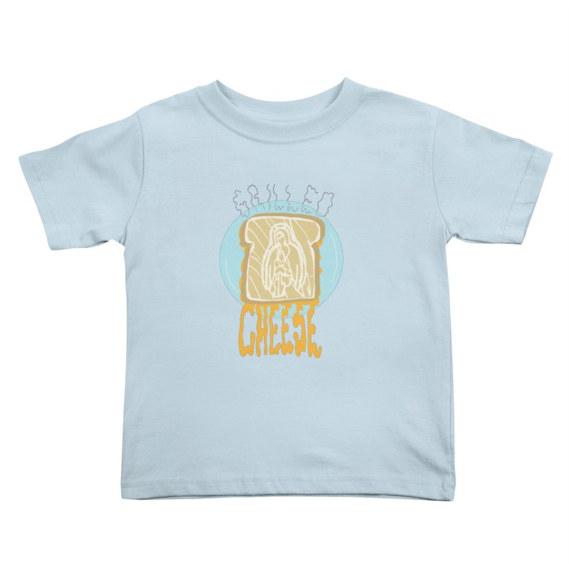 Holy Cheese Kids Toddler T-Shirt by Food & Stuffs
