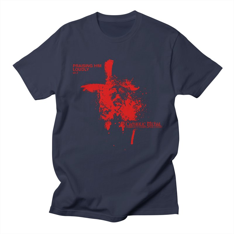 PHL2: Passion of Christ's Crucifixion Men's T-Shirt by Catholic Metal Merch