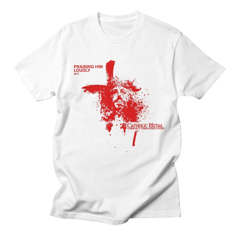 PHL2: Passion of Christ's Crucifixion Men's T-Shirt by Catholic Metal Merch