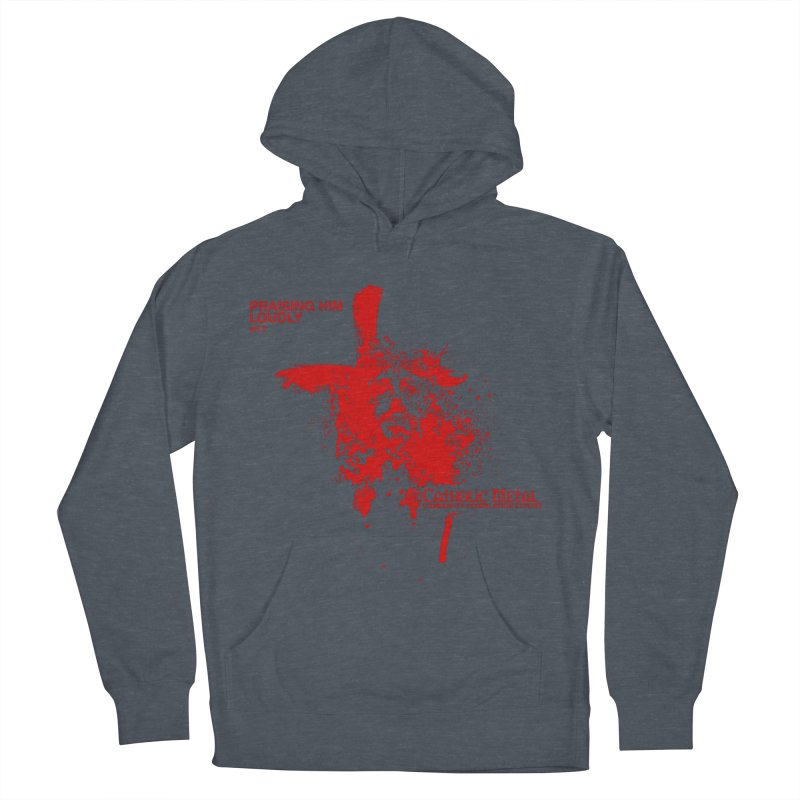 PHL2: Passion of Christ's Crucifixion Women's Pullover Hoody by Catholic Metal Merch