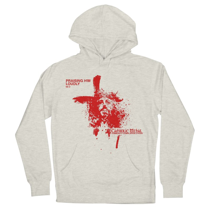 PHL2: Passion of Christ's Crucifixion Men's Pullover Hoody by Catholic Metal Merch