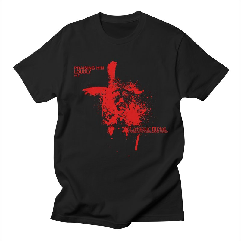 PHL2: Passion of Christ's Crucifixion Men's Regular T-Shirt by Catholic Metal Merch