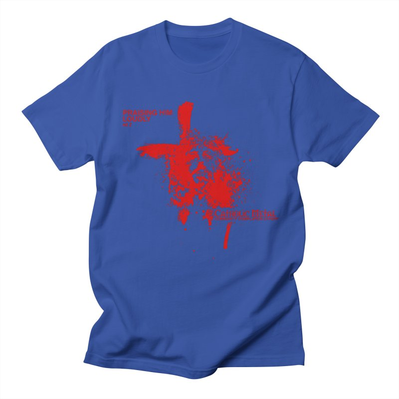 PHL2: Passion of Christ's Crucifixion Men's Regular T-Shirt by Catholic Metal Merch