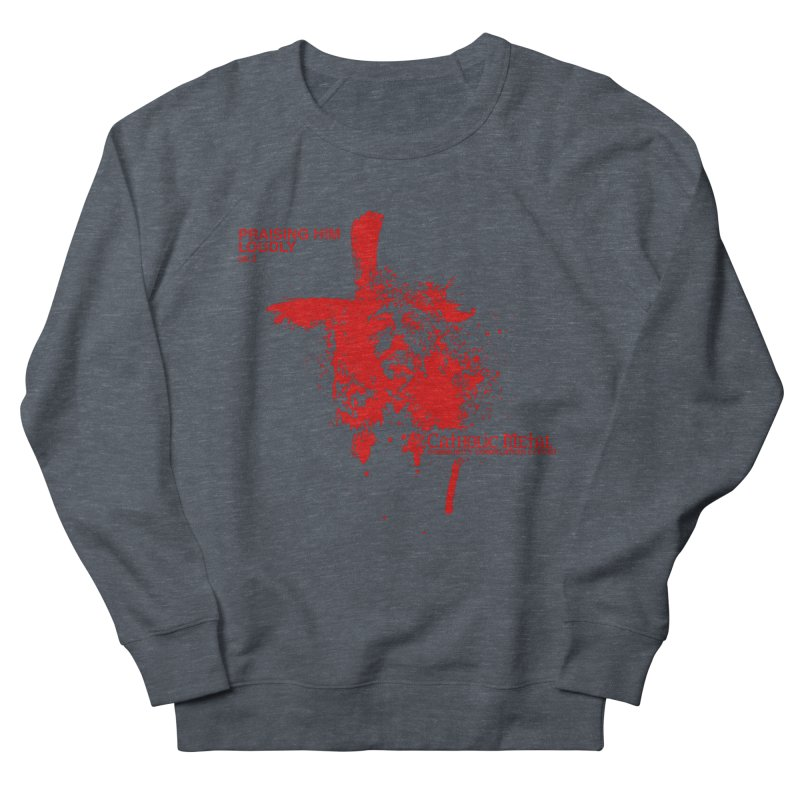 PHL2: Passion of Christ's Crucifixion Men's Sweatshirt by Catholic Metal Merch