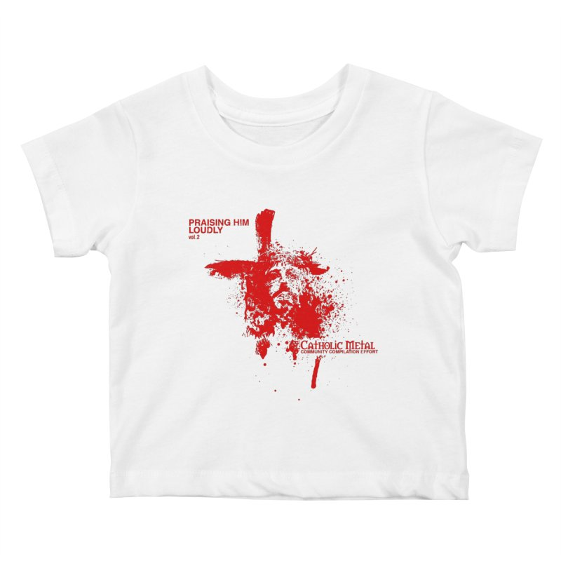 PHL2: Passion of Christ's Crucifixion Kids Baby T-Shirt by Catholic Metal Merch