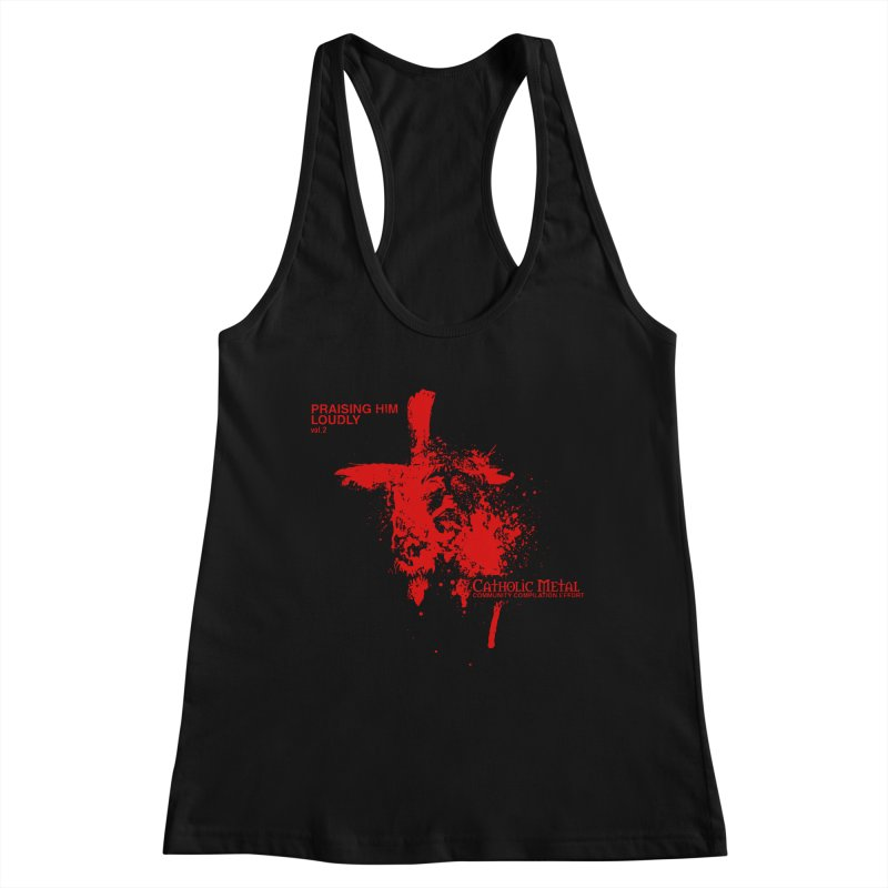 PHL2: Passion of Christ's Crucifixion Women's Tank by Catholic Metal Merch