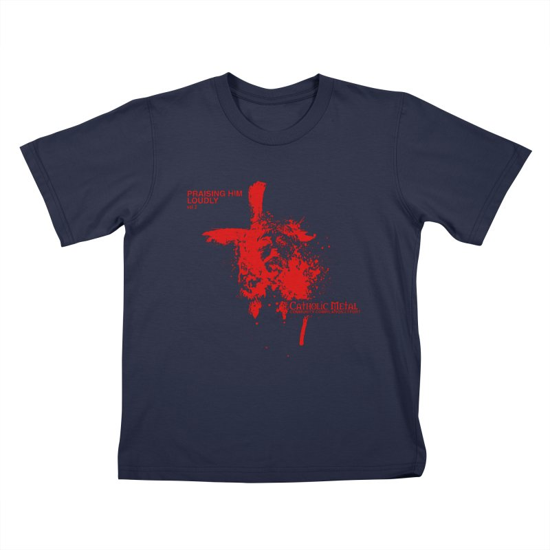 PHL2: Passion of Christ's Crucifixion Kids T-Shirt by Catholic Metal Merch