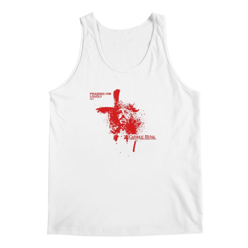 PHL2: Passion of Christ's Crucifixion Men's Tank by Catholic Metal Merch